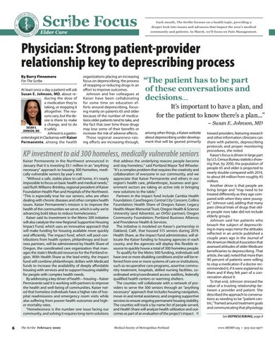 Page 6 of Physician: Strong patient-provider relationship key to deprescribing process