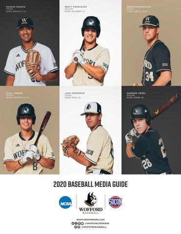 2020 Wofford Baseball Media Guide By Wofford Athletics Issuu