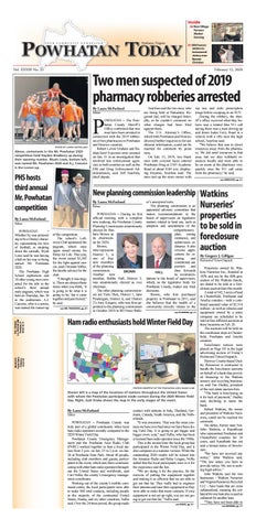 Powhatan Today 02 12 2020 By Powhatan Today Issuu