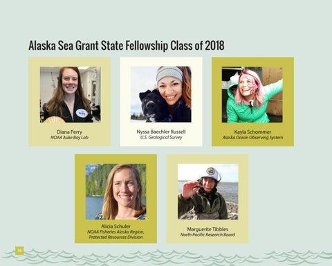 Page 38 of Alaska Sea Grant research fellows