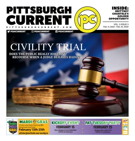 foto de Pittsburgh Current Volume III, Issue III, February 11, 2020 by ...