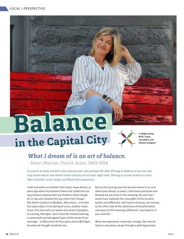 Page 14 of Balance in the Capital City by Regina Carey