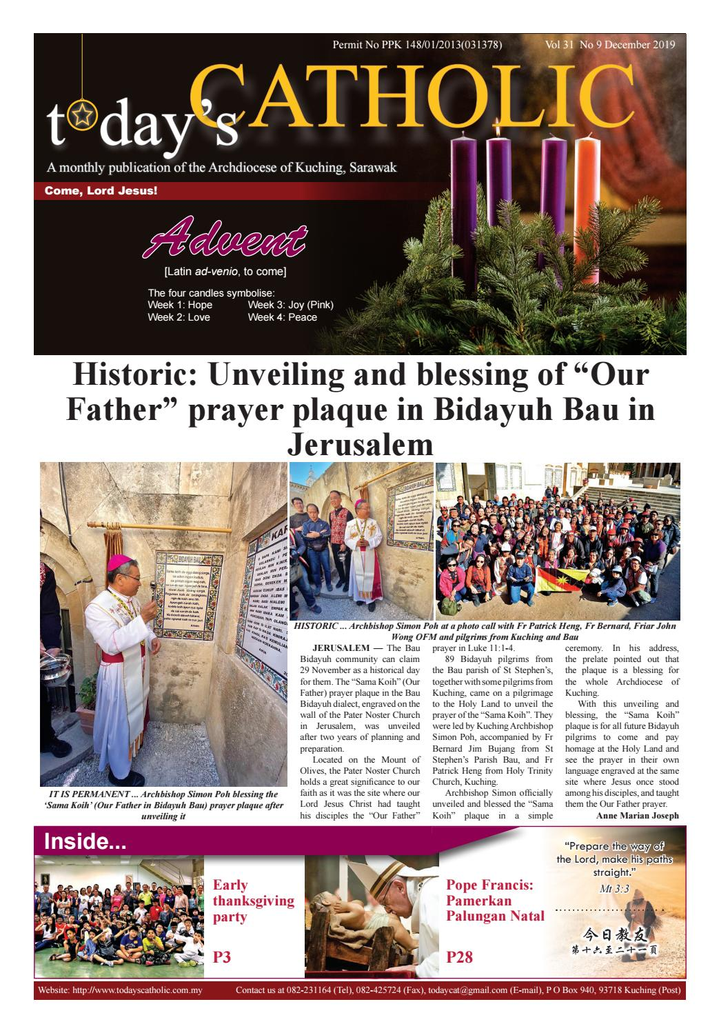 Today S Catholic Vol 31 No 9 December 2019 By Todays Catholic Issuu