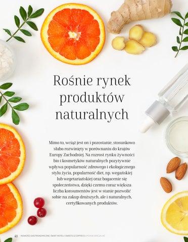 Page 40 of Rośnie rynek produktów naturalnych