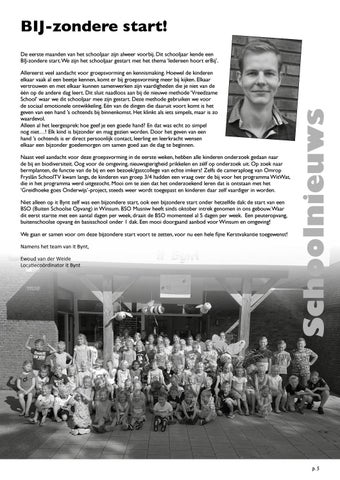 Page 5 of Schoolnieuws