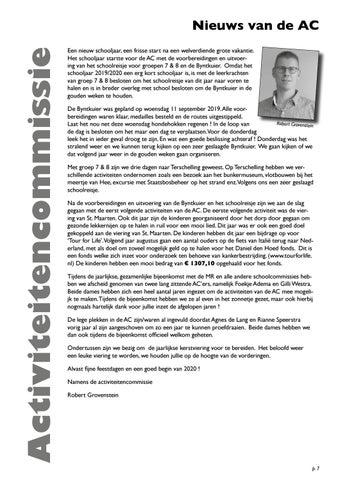 Page 7 of Nieuws van de Activiteitencommissie