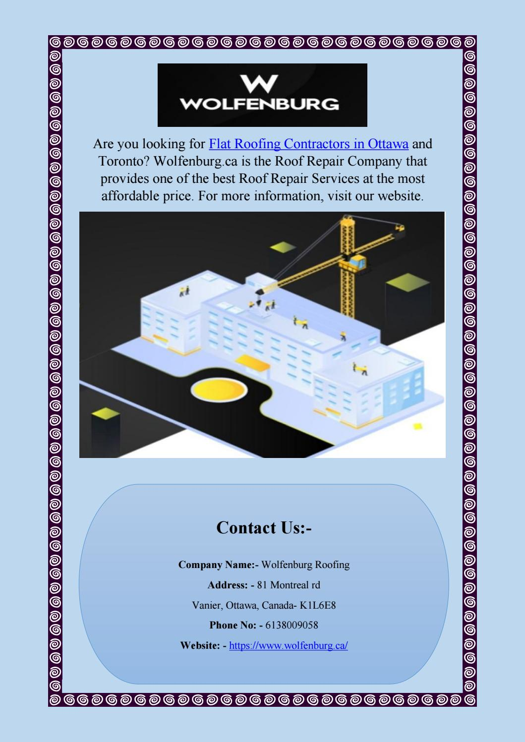 Commercial Roofing Contractors Near Me Wolfenburg Ca By Wolfenburg Roofing Issuu