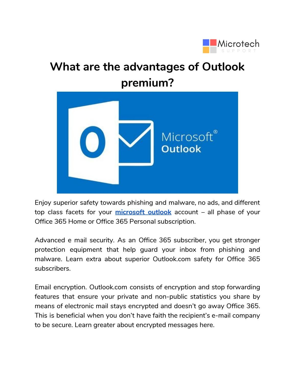 Microsoft office 365 email essentials
