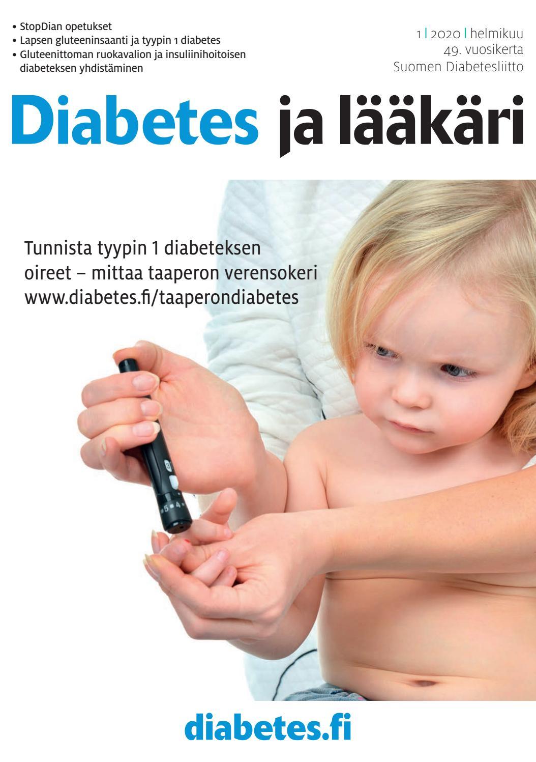 tyypin 1 diabetes esiintyvyys