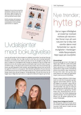 Page 32 of Uvdalsjenter med jentetips