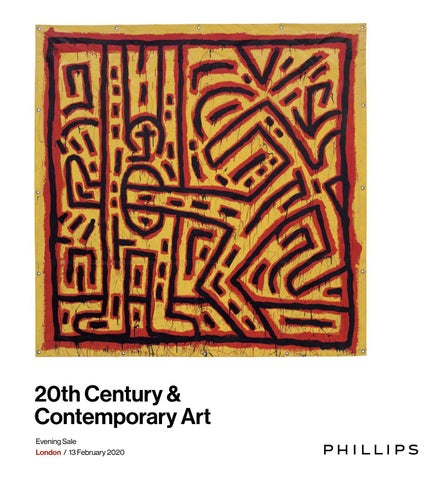 20th Century Contemporary Art Evening Sale Catalogue By Phillips Issuu