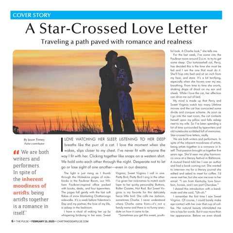 Page 6 of A STAR-CROSSED LOVE LETTER
