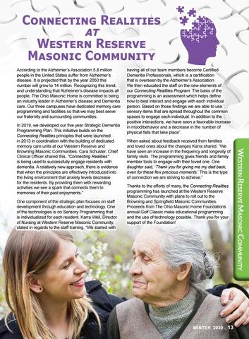 Page 13 of Browning Masonic Community News