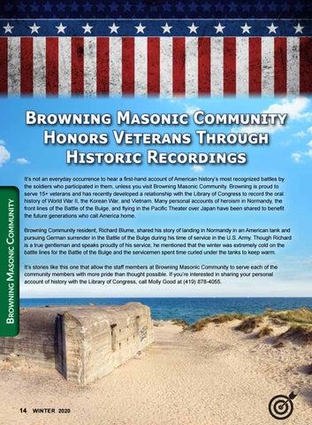 Page 14 of Springfield Masonic Community News