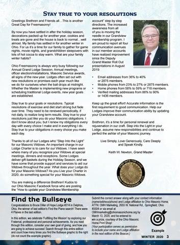 Page 3 of Grand Lodge News