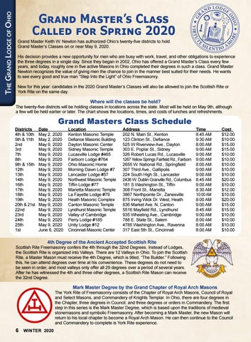 Page 6 of The Ohio Masonic Home Resource Center News