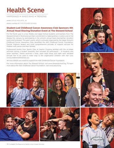 Page 14 of Health Scene | Happenings. Who's Who. Trending