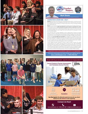 Page 15 of Health Scene | Happenings. Who's Who. Trending