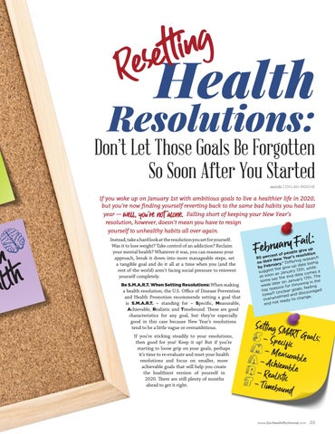Page 23 of Resetting Health Resolutions: If Your Resolutions Turned Out to be Unrealistic, Reset with Ones Right for You