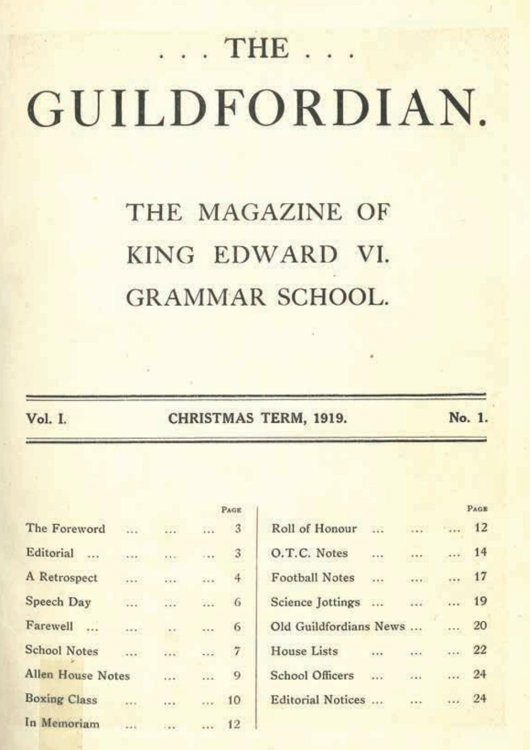 The Guildfordian 2019 By Rgs Guildford Issuu