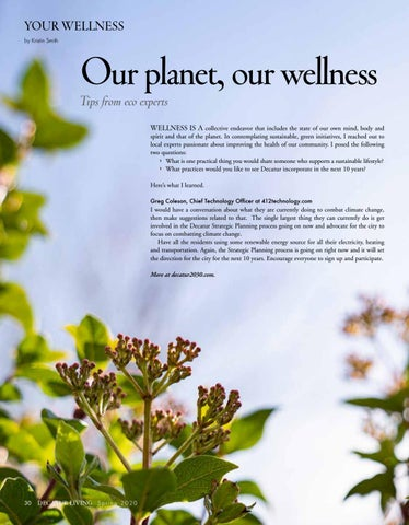 Page 30 of Your Wellness