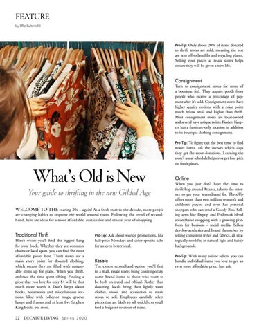 Page 32 of Guide to Secondhand Shopping