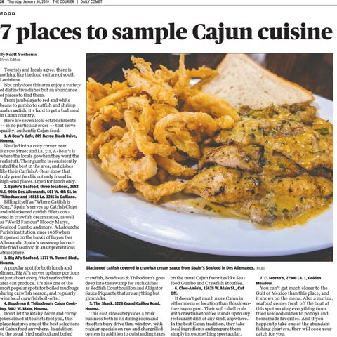 Page 19 of 7 places to savor a real Cajun meal