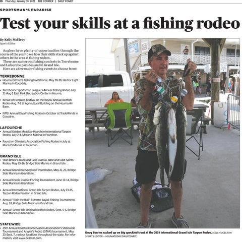Page 27 of Test your skills at a fi shing rodeo