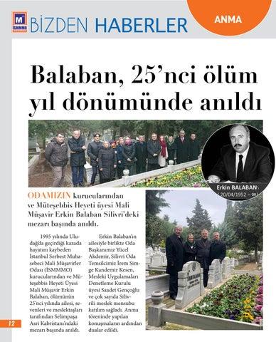 Page 12 of Erkin Balaban'ı Özlem ve Saygıyla Andık