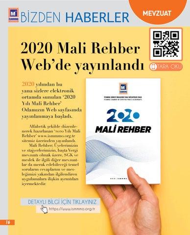 Page 16 of 2020 Yılı Mali Rehber Web'de Yayınlandı