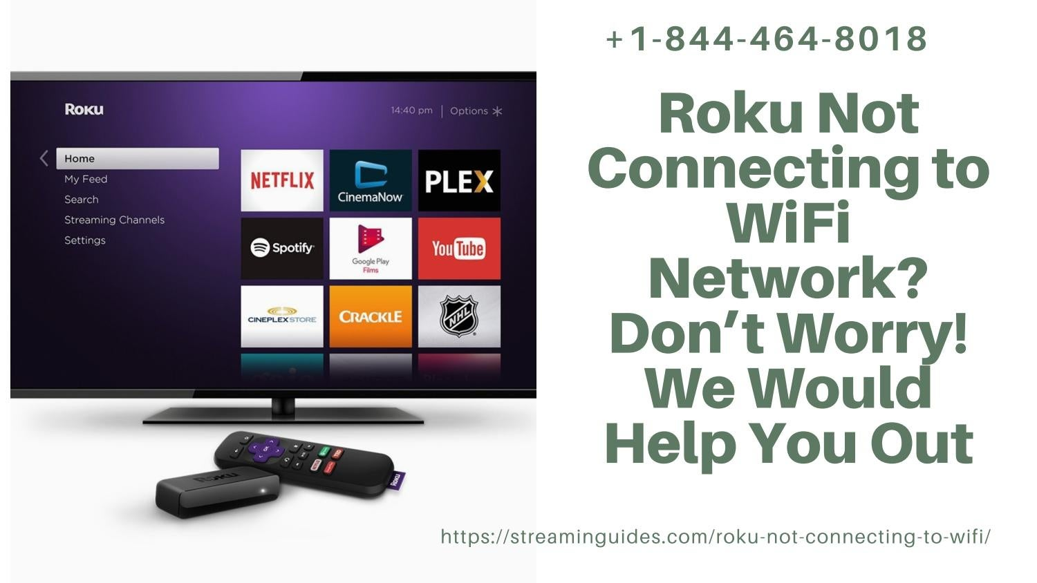 Roku Not Connecting to WiFi | Fix Roku Connectivity Errors –Give Us a Call for Quick Solution
