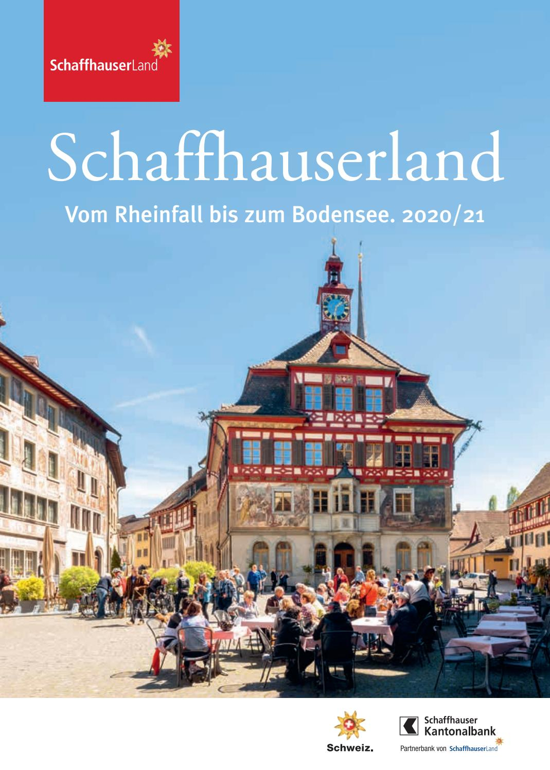 Schaffhauserland Tourismus Imagebroschure 2020 By Frei Partner Issuu