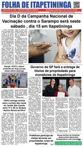 Folha de Itapetininga 13/02/2020 (Quinta-feira)