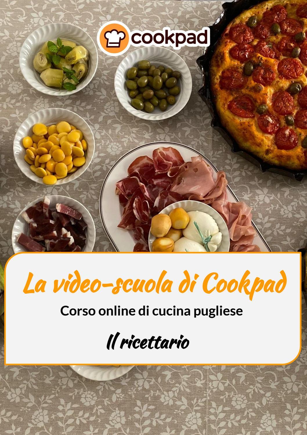 Corso Online Di Cucina Pugliese Cookpad Il Ricettario Vebuka Com
