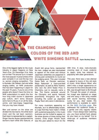 Page 38 of The Changing Colors of the Red and White Singing Battle by Tayler Skultety