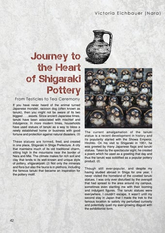 Page 42 of Journey to the Heart of Shigaraki Pottery by Victoria Eichbauer