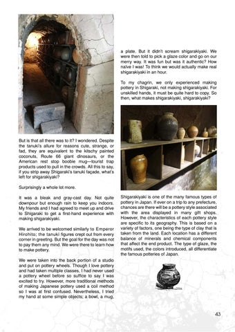 Page 43 of Journey to the Heart of Shigaraki Pottery by Victoria Eichbauer