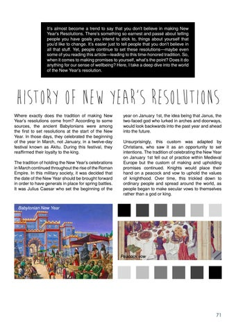 Page 71 of What's the Point of Making New Year's Resolutions? by Brett Borthwick