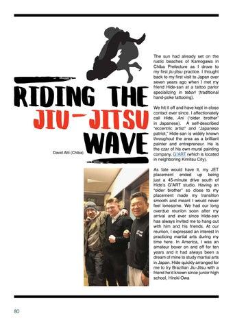 Page 80 of Riding the Jiu-Jitsu Wave by David Atti