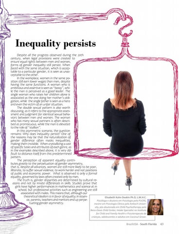 Page 45 of A desigualdade persiste Inequality persists