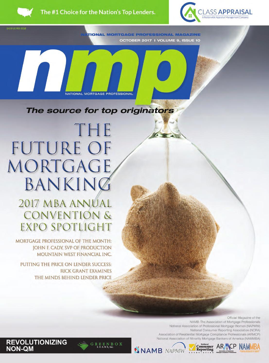 National Mortgage Professional Magazine October 2017 By Ambizmedia Issuu