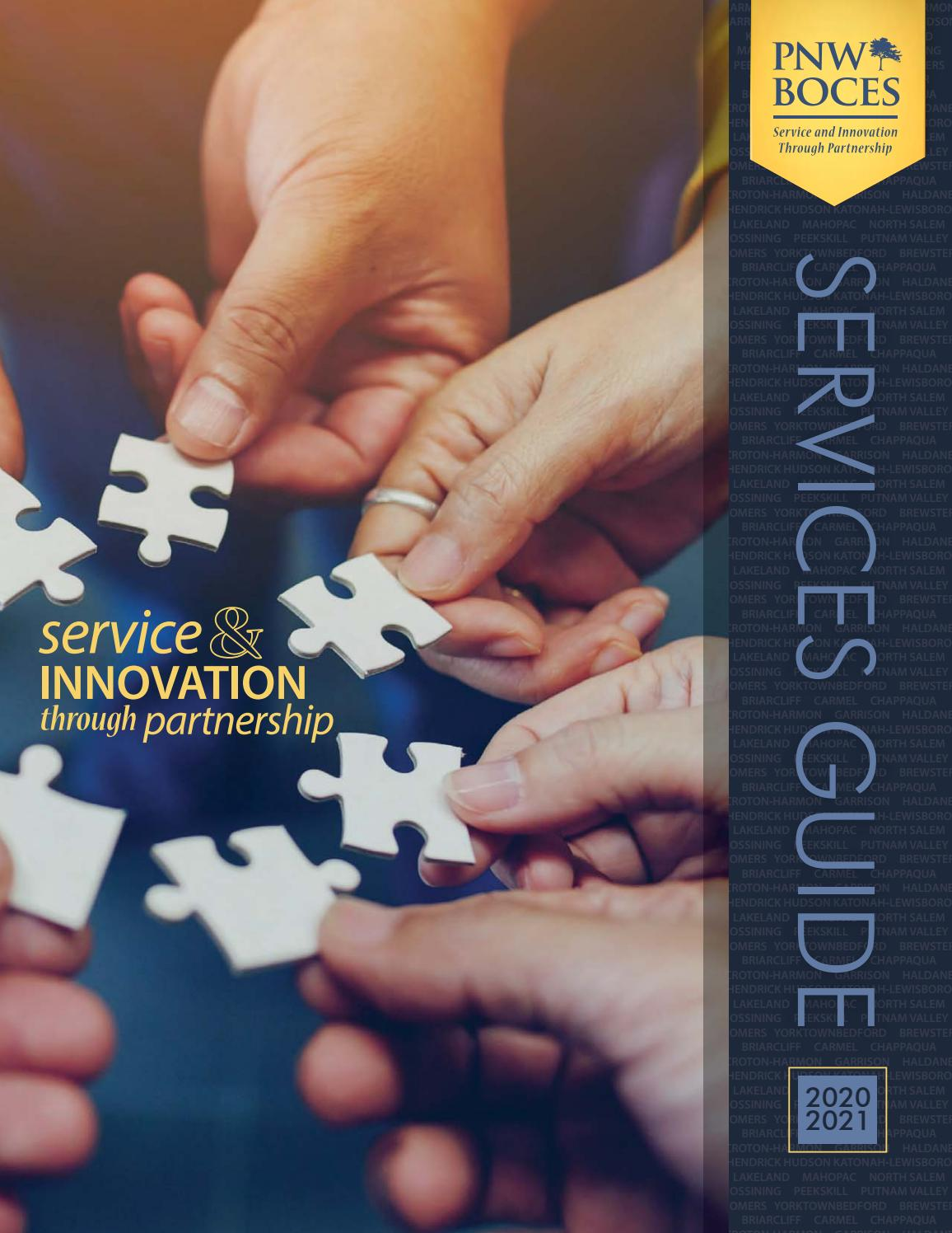 PNW BOCES 2020 2021 Services Guide By PNW BOCES Issuu