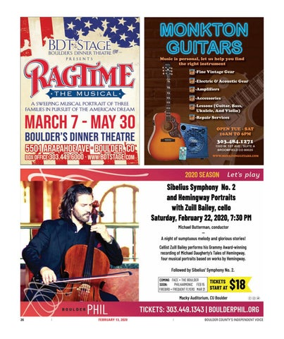 Page 26 of Arts & Culture: Boulder Chamber Orchestra and Chamber Chorale collaborate