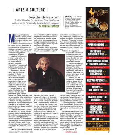 Page 27 of Arts & Culture: Boulder Chamber Orchestra and Chamber Chorale collaborate