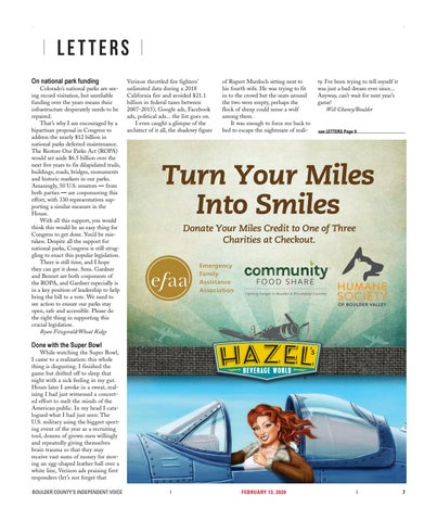Page 7 of Letters: Signed, sealed, delivered, your views