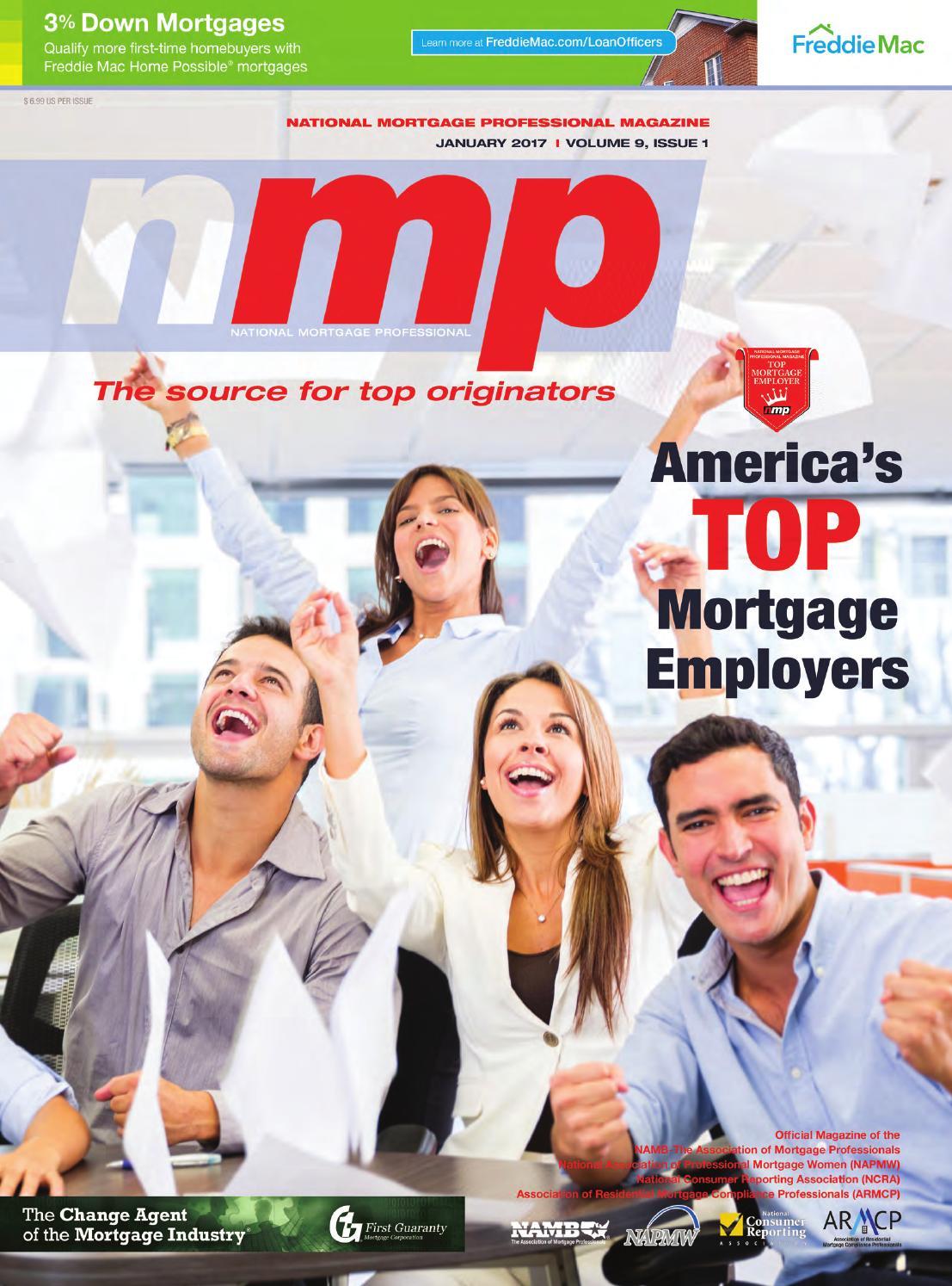 National Mortgage Professional Magazine January 2017 By Ambizmedia Issuu