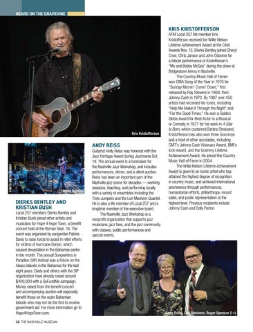 Page 12 of HEARD ON THE GRAPEVINE