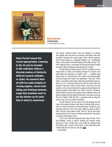 Page 27 of REVIEWS The Ragin' Cajun Doug Kershaw publishes a