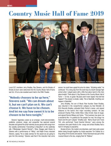 Page 8 of NEWS Two star-studded events inducted many deserving