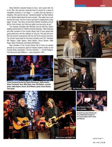Page 9 of NEWS Two star-studded events inducted many deserving